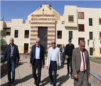 محافظ جنوب سيناء يتفقد فرع  جامعة الملك سلمان بشرم الشيخ
