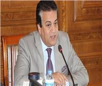 «عبد الغفار» يستعرض تقريرا حول «دعم المشروعات الابتكارية للطلاب»