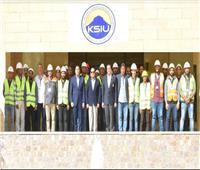 السيسى يتفقد جامعة الملك سلمان الدولية بمدينة شرم الشيخ