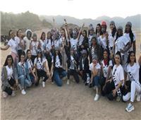 ملكات جمال القارات بين صحراء وميادين شرم الشيخ استعداد للمسابقة