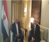 «عبد العال» يلتقي المستشار عقيلة صالح رئيس مجلس النواب الليبي