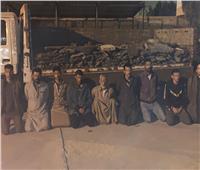مباحث القاهرة تضبط المتهمين بسرقة مصنع الحديد والصلب بالتبين