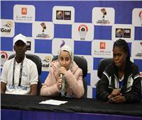 «لوندا» الكنغولية: أتوقع حصول «ميتشيل» على لقب أفضل لاعبة ببطولة أفريقيا