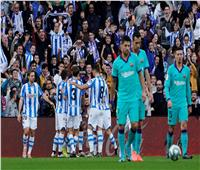 فيديو| برشلونة يتعادل مع سوسيداد ويمنح ريال مدريد فرصة الصدارة