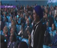 فيديو| أول تعليق لوالدة «زين» بعد مصافحة السيسي له بمنتدى شباب العالم