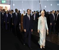 انتصار السيسي عن «منتدى الشباب»: نستكمل حلمًا بدأ منذ عامين نحو عالم يسوده السلام