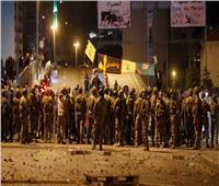 قوات الأمن تطلق الغاز المسيل للدموع والرصاص المطاطي لتفريق محتجين في بيروت