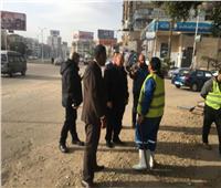 محافظ القاهرة يتفقد شوارع العاصمة للاطمئنان على استعدادات مواجهة الأمطار