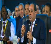 فيديو| السيسي: هُناك دول تستخدم الإرهاب لهز الاستقرار في مصر
