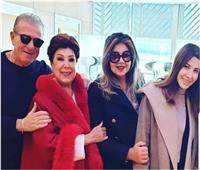 نانسي عجرم تغادر القاهرة متجهة للرياض