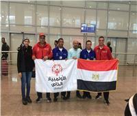 عودة البعثة المصرية للأولمبياد بعد مشاركتها بكأس الشيخ بن حمد للفروسية بالبحرين