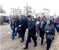 محافظ الغربية يقوم بجولات ميدانية ومتابعة الأعمال الجارية بمدينة المحلة
