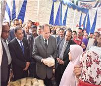محافظ أسيوط يفتتح معرض «خير مصر» لدعم ريادة الأعمال