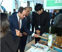 صور| «السيسي» يتفقد منصة المصري للفكر ومنطقة رواد الأعمال بمنتدى الشباب
