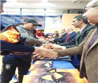 ختام فعاليات مسابقات العروض الرياضية لتلاميذ المدارس الرياضية ببورسعيد
