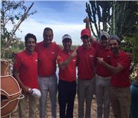الفراعنة وصيف البطولة العربية للجولف رجال