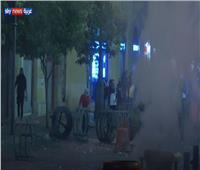 سكاي نيوز: إصابة عدد من المتظاهرين خلال مواجهات مع الأمن وسط بيروت