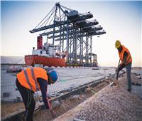 صور| ميناء السخنة يستقبل 4 رافعات جديدة للعمل في الحوض الثاني بحلول 2020