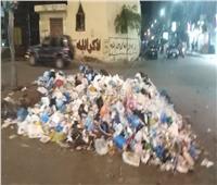 صور| «القمامة» و«الفوضى» أمام حي المنتزة ومسجد سيدي بشر
