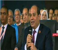 فيديو| الرئيس السيسي: سنفتتح جيلا جديدا من الجامعاتالعصرية 2020