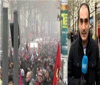 فيديو|مراسل: استمرار الاحتجاجات في باريس ضد مشروع التقاعد