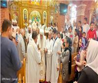إيبارشية البحيرة تحتفل بالعيد الـ48 لسيامة الأنبا باخوميوس أسقفا
