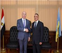 محافظ الإسكندرية يبحث مع قنصل لبنان سبل دعم وتوطيد علاقات التعاون