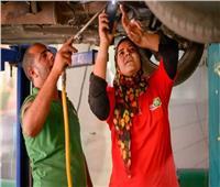 فيديو   قصة نجاح في منتدى الشباب.. حكاية «لقاء» من ميكانيكية لمشرفة صيانة