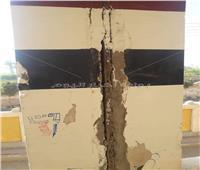 صور | مدرسة المحطة في أبوتشت.. خطر يهدد أرواح التلاميذ
