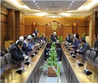 وكيل الأزهر يستقبل رئيس وزراء ولاية تيرينجانو الماليزية