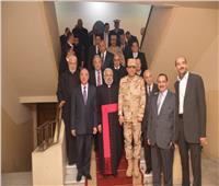 قيادات محافظة الإسكندرية تزور الوكيل البطريركي لتقديم التهنئة بعيد الميلاد