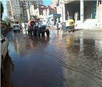 توقف الصيد وانقطاع الكهرباء بسبب الأمطار في كفر الشيخ