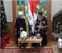 صور| الإمام الأكبر: وصايا الأنبياء أكدت على الأخوة بين الناس