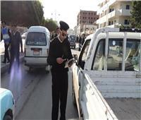 ضبط 5386 مخالفة مرورية و28 سائقًا تحت تأثير المخدرات على مستوى الجمهورية