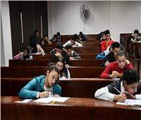 امتحانات هادئة بجامعة قناة السويس