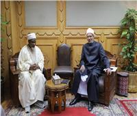 وكيل الأزهر يستقبل كبير أئمة جامع «سلطان بيلو» بنيجيريا