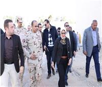 «رأس المسلة» أول محطة في جولة وزيرة الصحة بجنوب سيناء