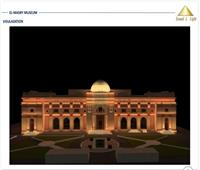 بالصور  مصر للصوت والضوء تبدأ تنفيذ مشروع إنارة ميدان التحرير