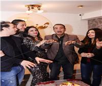 صور| نجوم الغناء يحتفلون بعيد ميلاد الموسيقار صلاح الشرنوبي