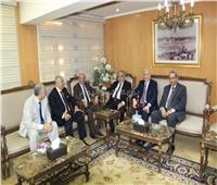 وزير العدل يستقبل رئيس وأعضاء المحكمة الدستورية العليا