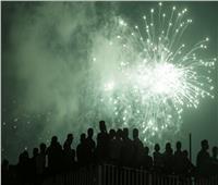 صور| سماء كولومبو تُضاء بالألعاب النارية احتفالًا بالسنة الجديدة في سريلانكا