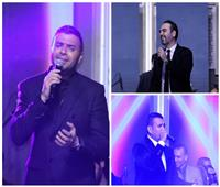 صور| وائل جسار ورامي صبري والليثي وصوفينار في حفل العام الجديد