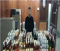 مباحث القاهرة تضبط عامل بحوزته 216 زجاجة خمور بمدينة نصر