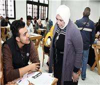 هدوء في لجان امتحانات الفصل الدراسي الأول بجامعة قناة السويس
