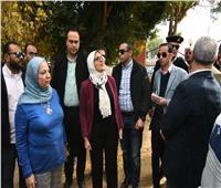 وزيرة الصحة تتفقد أعمال تطوير وحدة صحة الأسرة بحاجر الرزيقات بأرمنت