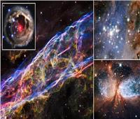 «الجواهر الخفية».. 12 صورة مذهلة لكواكب ونجوم «محتضرة»