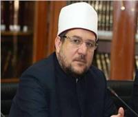 وزير الأوقاف يدعو للجيش والشرطة في خطبة الجمعة بالطور