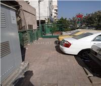 صور|«مجمع أحياء شمال القاهرة» يغلق طريق المارة