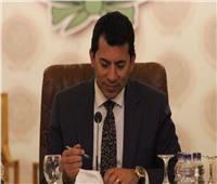 وزير الرياضة يشهد مباراة أساطير كرة القدم تحت سفح الأهرامات غدًا