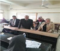 رئيس جامعة الأزهر يتفقد لجان امتحانات كليات البنات بمدينة نصر